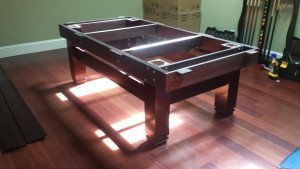Correctly performing pool table installations, Everett Washington